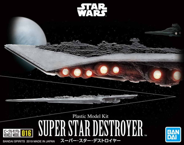 Star Wars Super Star Destroyer Vehicle Model 016