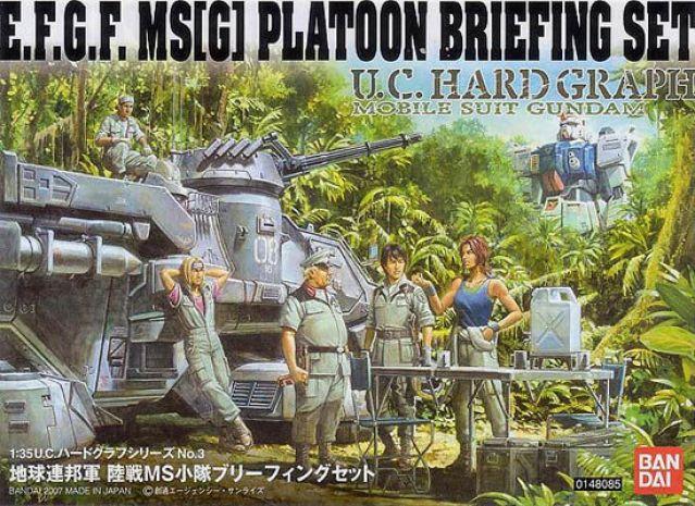 1/35 EFGF MS[G] Platoon Briefing Set