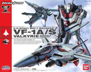 1/72 VF-1A/S Valkyrie Hikaru Ichijo Version