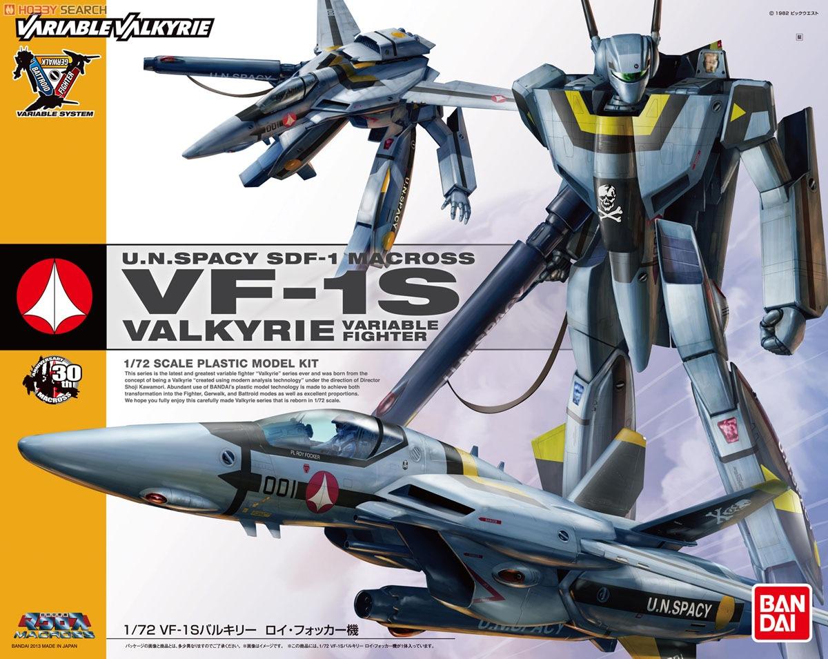 1/72 VF-1S Valkyrie Roy Focker