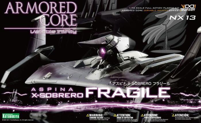 1/72 Aspina X-Sobrero Fragile