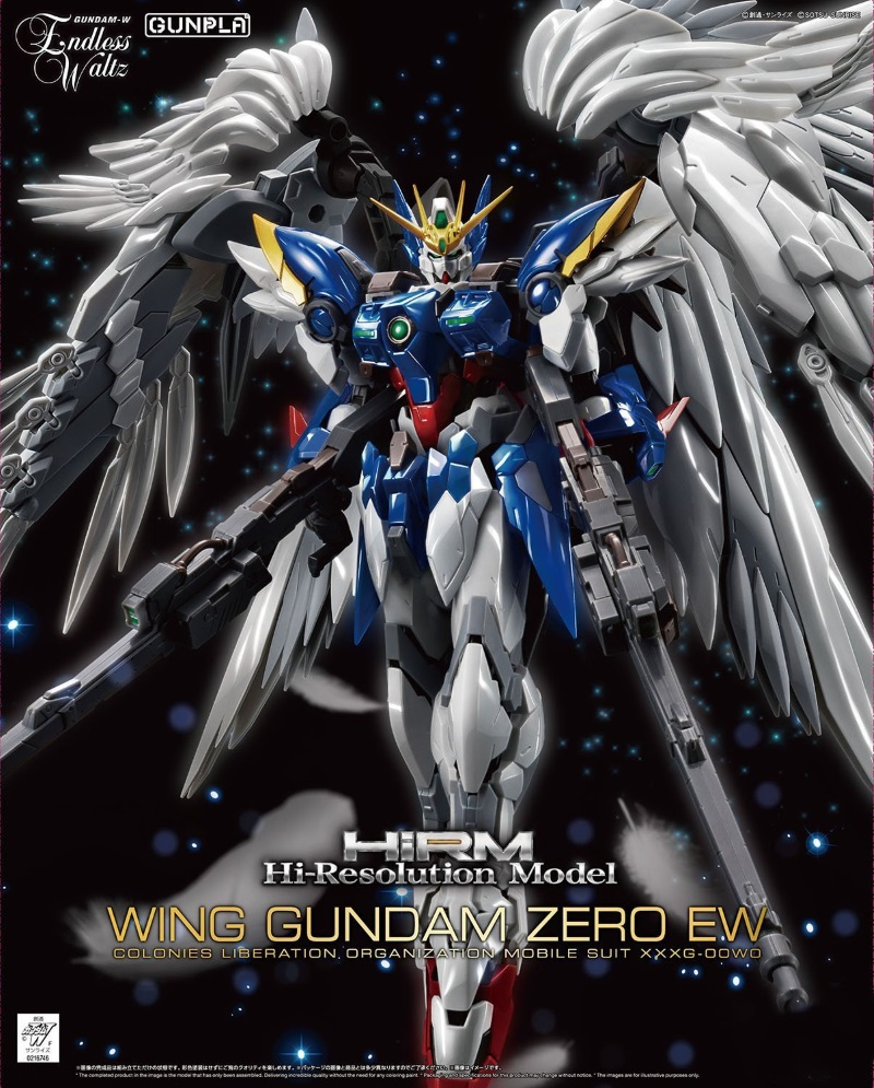 1/100 Hi-Resolution Model Wing Gundam Zero EW