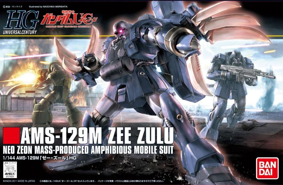 1/144 HGUC AMS-129M Zee Zulu