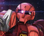 1/144 HG MS-05 Zaku I Char Custom (Gundam The Origin Ver.)