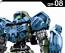 1/144 30MM Special Forces Option Armour (For Portanova, Light Blue)