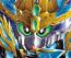 SD Sangoku Soketsuden 29 Tien Ba Cao Cao Wing Gundam