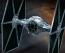 Star Wars Tie Advanced x1 & Fighter Set Vehicle Model 007