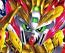 SD Sangoku Soketsuden 33 Zhang Fei God Gundam (Yan Huang)