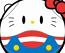 Haropla Hello Kitty X Haro (Anniversary Model)