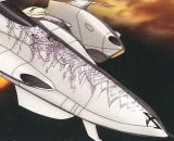 Space Battleship Yamato 2202 Mecha Collection Czvarke (Embassy Special Aircraft) & Devastator Set (No. 06)