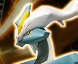 White Kyurem 28 Pokemon Plamo