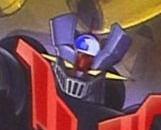 Mazinger Z with God Scrander