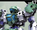 1/144 30MM Option Armour for Special Operation (Rabiot, Light Green)