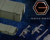 1/24 Hexa Gear Army Container Set