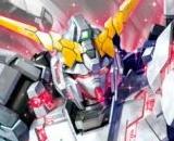 1/100 MG RX-0 Unicorn Gundam Red or Green Twin Frame (Titanium Finish)