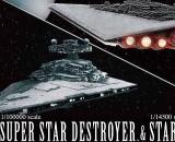 Star Wars Super Star Destroyer 1/100000 & 1/14500 Star Destroyer