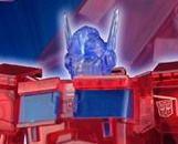 Flame Toys Optimus Prime (IDW Clear Ver)