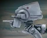 Star Wars AT-ST and Snowspeeder Vehicle Model 008