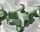 SD Gundam Cross Silhouette Frame (Green)