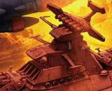 1/1000 U.N.C.F.D-1 Dreadnought Class Mars Defence Line Set
