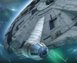 1/144 Millennium Falcon (Solo: A star Wars Story) (Lando Calrissian Ver.)