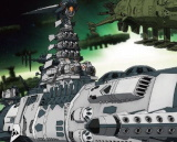 Space Battleship Yamato 2202 Mecha Collection Guyzengun Weapons Group, Karakrum-class Combatant Ship Set