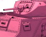 1/35 Girls und Panzer: M3 Medium Tank Lee (Usagi San Team)